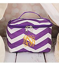 Purple and White Chevron Case #008-165-AP/W