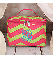 Fuchsia and Lime Green Chevron Case #008-165-F/G
