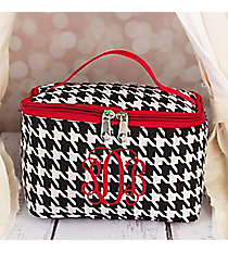 Houndstooth Case with Red Trim #008-606-R