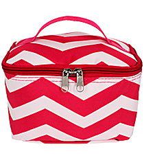 Fuchsia and White Chevron Case #008-165-F/W