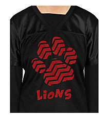 Chevron Paw Football Jersey