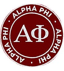 Alpha Phi Mix and Match Sorority Patch #IP-AP-030138