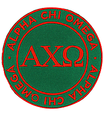 Alpha Chi Omega Mix and Match Sorority Patch #IP-AX-030145