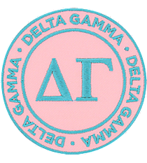 Delta Gamma Mix and Match Sorority Patch #IP-DG-030176