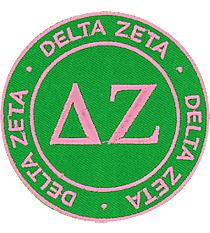 Delta Zeta Mix and Match Sorority Patch #IP-DZ-030183