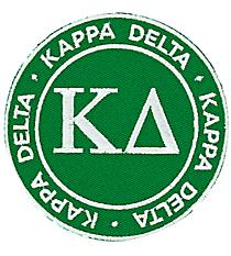 Kappa Delta Mix and Match Sorority Patch #IP-KD-030190