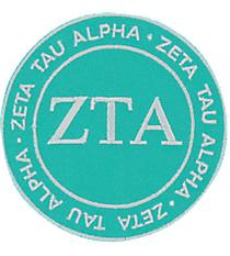 Zeta Tau Alpha Mix and Match Sorority Patch #IP-ZT-030220