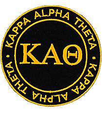 Kappa Alpha Theta Mix and Match Sorority Patch #IP-KA-033764