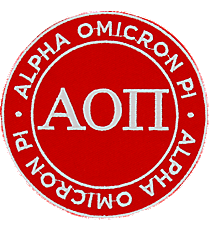 Alpha Omicron Pi Mix and Match Sorority Patch #IP-AO-033801