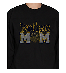 Team Mom and Paw Print Heavy-weight Crew Sweatshirt Design SP47 *Customizable!