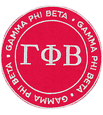 Gamma Phi Beta Mix and Match Sorority Patch #IP-GP-035805