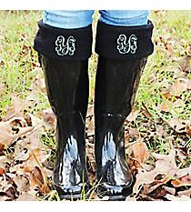 Charles River New Englander Boot Socks, Black #1006-010 *Choose Your Size