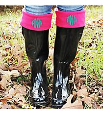Charles River New Englander Boot Socks, Hot Pink #1006-335 *Choose Your Size