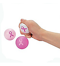 1 Pink Ribbon Relaxable Ball #12/4048-SHIPS ASSORTED
