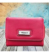 Pink 'Trust' Wallet #WT089