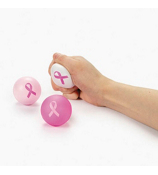 One Pink Ribbon Relaxable Ball #12/4048-ASST