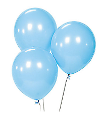 2 Dozen Light Blue Balloons #13599563