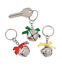 12 Jingle Bell Keychains #13616845