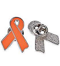 12 Orange Ribbon Pins #13617376