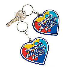 12 Autism Awareness Key Chains #13632187