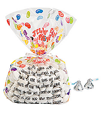 12 Easter Prayer Cellophane Bags #13628673