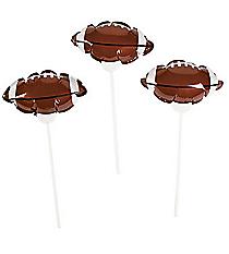 12 Football Self-Inflating Mylar Balloons #13628896