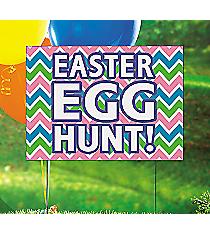 1 Easter Egg Hunt Yard Sign #13629059
