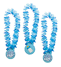 "12 ""It's A Boy!"" Leis #13629623"