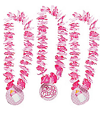"12 ""It's A Girl!"" Leis #13629627"