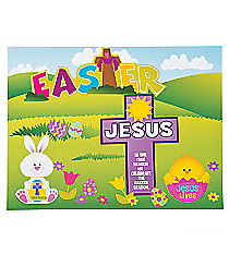 "12 ""Jesus is the Reason For the Season"" Easter Sticker Scenes #13630642"