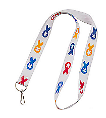 12 Autism Awareness Badge Holders #13630992