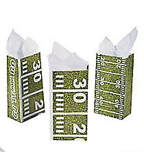 12 Football Field Treat Bags #13631557
