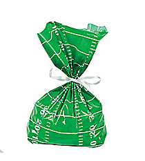 12 Football Field Cellophane Bags #13631560