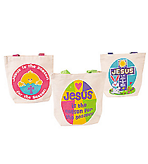 "12 ""Jesus is the Reason"" Canvas Totes #13632119"