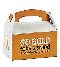 12 Childhood Cancer Awareness Treat Boxes #13640382