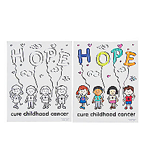 50 Childhood Cancer Awareness Coloring Pages #13640554