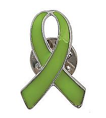 12 Lime Green Ribbon Pins #13642932