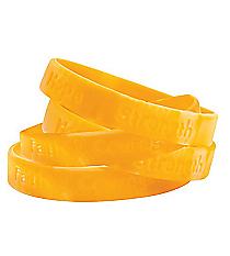 12 Gold Ribbon Camouflage Bracelets #13643433