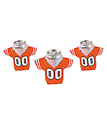 12 Orange Jersey Shaped Can Covers #13653935