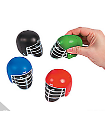 12 Football Helmet Stress Toys #13654142