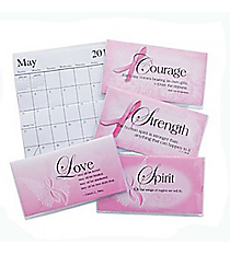 12 Inspirational Pink Ribbon 2015-2016 Pocket Planners #13655906