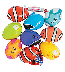 12 Plastic Bee Sea Quest Candy-Filled Easter Eggs #13656641