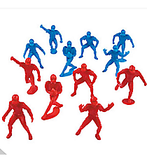 144 Football Player Action Figures #13659054