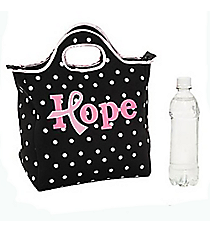 1 Pink Ribbon Hope Lunch Tote #13659455