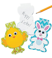 12 Easter Character Notepads #13680267