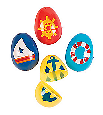 72 Nautical Easter Eggs #13680562
