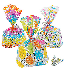 12 Easter Cellophane Bags #13680642