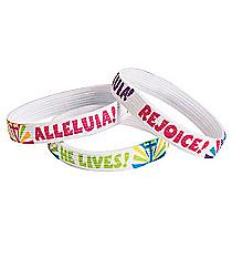 "12 ""He Lives"" Message Bracelets #13682078"