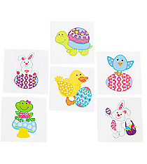72 Easter Character Tattoos #13683111