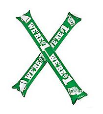 24 Green Team Spirit Boom Sticks #13704879